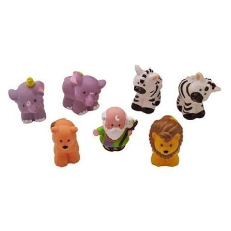 Fisher Price (フィッシャープライス) Noah's ark replacement set - Lions, Zebras, elephants and Noah