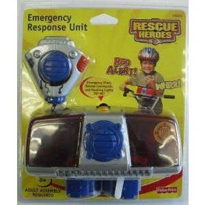 Fisher Price (フィッシャープライス) Rescue Heros Emergency Control Panel For Bikes or Trikes