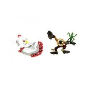Fisher Price カンフーパンダ 2 Monkey/Mantis and Lord Shen フィギュア Pack 131002fnp