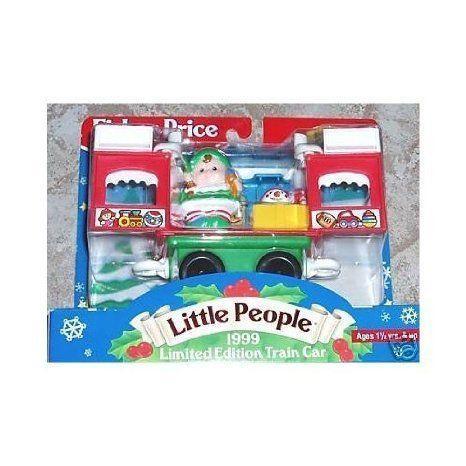 Fisher-Price (フィッシャープライス) - Little People 1999 限定品 Train Car ミニカー ミニチュア 模型