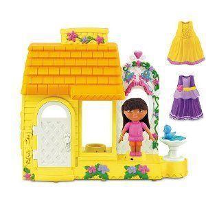 Fisher-Price (フィッシャープライス) Dora the Explorer Dress 'N Spin Dollhouse