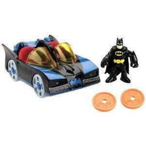 Fisher-Price (フィッシャープライス) Imaginext DC Super Friends Batmobile with Lights ミニカー ミニ