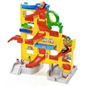 Fisher-Price (フィッシャープライス) Little People Wheelies Stand 'n Play Rampway ミニカー ミニチュ