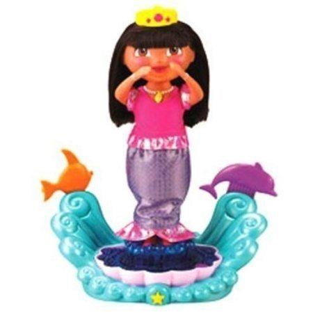Fisher-PriceR Dora Sparkle & Twirl Mermaid Doll ドール 人形 フィギュア