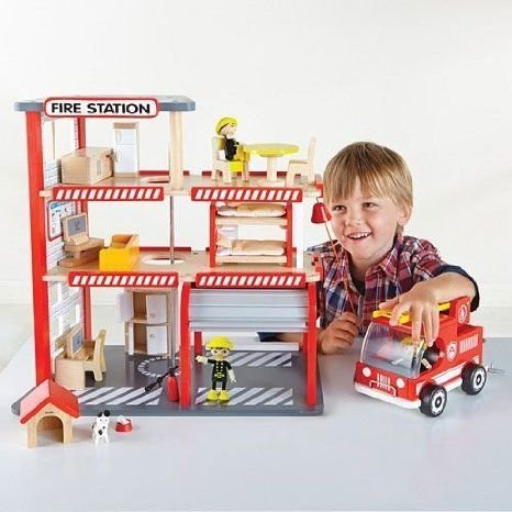 Five Alarm Firehouse - Imaginative プレイセット by HaPe (E8011A)