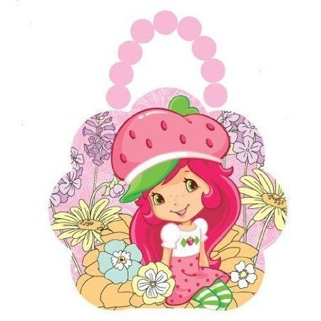Flower Purse - Strawberry Shortcake - Flowers Tin Box New Gifts Toys 687707-2 フィギュア おもちゃ