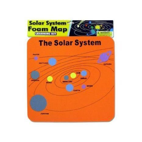 Foam Solar System Map フィギュア おもちゃ 人形