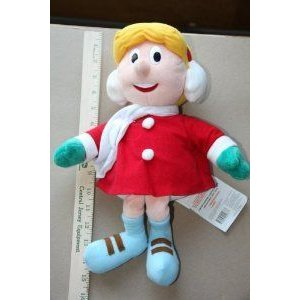 Frosty the Snowman's Karen 14plush Doll By Stuffin - From CVS in 1999 ドール 人形 フィギュア