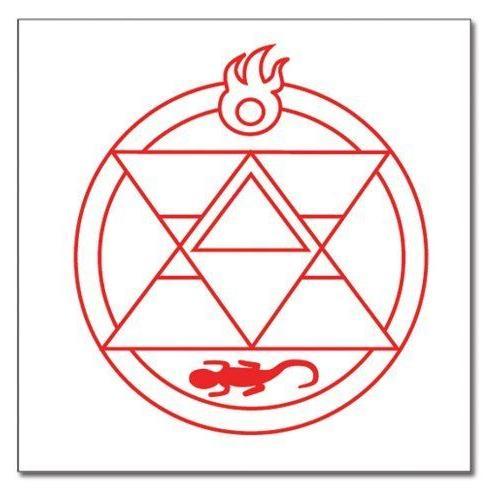 Fullmetal Alchemist Brotherhood Roy Renseijin Style Tattoo フィギュア ダイキャスト 人形