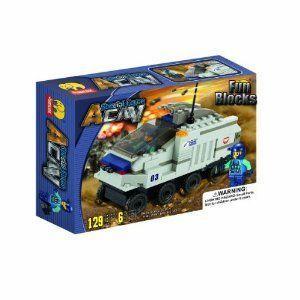 Fun Blocks 'Special Forces' Military Brick Set C 129 ピース (J5611) ブロック おもちゃ