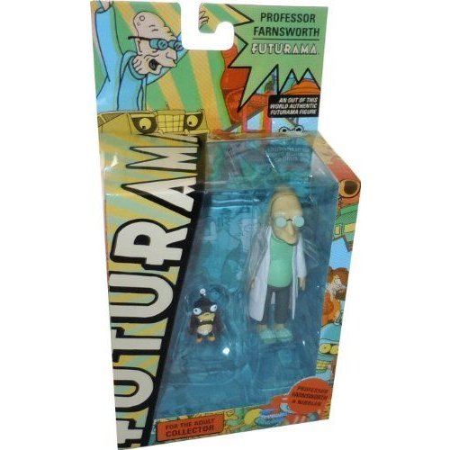 Futurama Encore 2: Professor Farnsworth Action Figure フィギュア ダイキャスト 人形