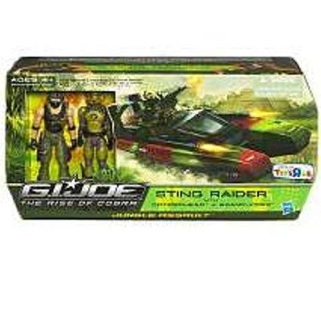 G.I. Joe (G.I.ジョー) Movie The Rise of Cobra Exclusive Vehicle Sting Raider with Copperhead & Swa