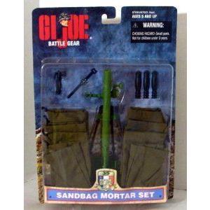 G.I. Joe (G.I.ジョー) Sandbag Mortar Accessory Set for 12 フィギュア 人形 フィギュア おもちゃ 人形