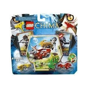 Game / Play LEGO (レゴ) Chima CHI Battles 70113,Includes Longtooth and Wakz ミニフィギュア 人形 wi