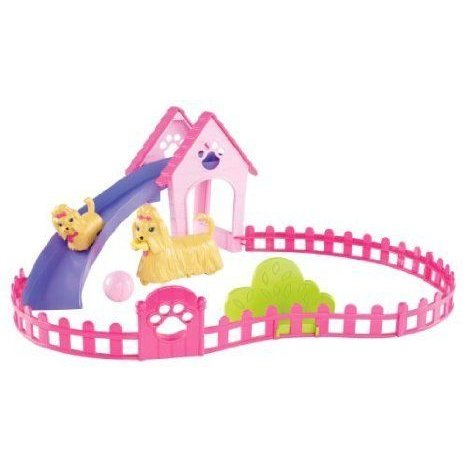 Game/Play Barbie(バービー) Puppy Play Park and Barbie(バービー) Doll Giftset Kid/Child ドール 人形