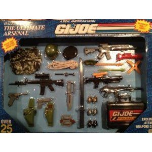 GI Joe Hall of Fame: The Ultimate Arsenal Mission Gear フィギュア おもちゃ 人形