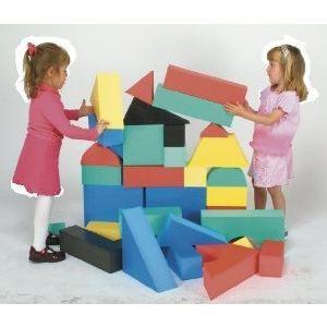 Giant Foam Block Set II (32 pcs.) ブロック おもちゃ
