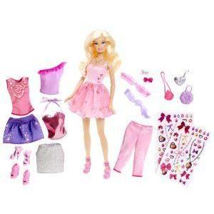 Glitter Barbie(バービー) coordinates! Fashion set (Y7503) ドール 人形 フィギュア