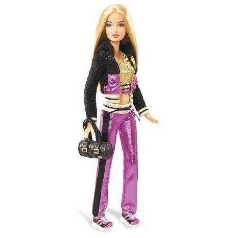Glitter Games Barbie(バービー) Doll ドール 人形 フィギュア