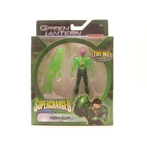 緑 Lantern グリーンランタン Movie 3 3/4 Supercharged Abin Sur Action Figure Exclusive フィギュ