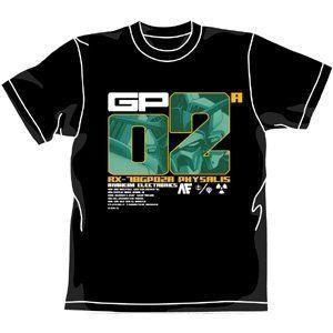 Gundam ガンダム 0083 GP02A Physalis T-shirt 黒 (XL) フィギュア 人形 おもちゃ
