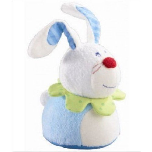 Haba ハバ USA 3933 Scampering Rabbit Wind-up Figures - Pack of 4 フィギュア ダイキャスト 人形