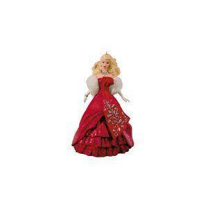Hallmark (ホールマーク) Celebration Holiday Barbie(バービー) Ornament Christmas 2012 ドール 人形
