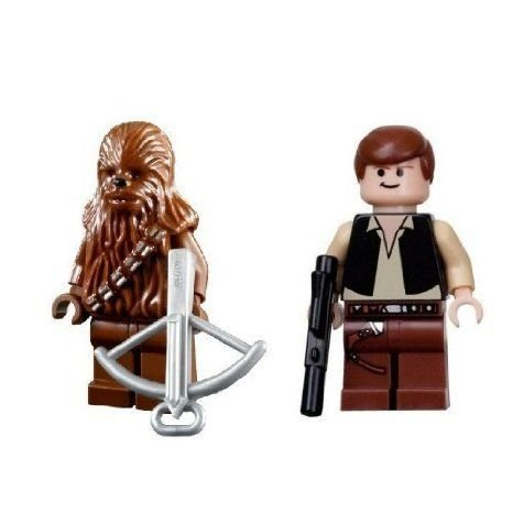 Han Solo & Chewbacca (Death Star Version) - LEGO (レゴ) Star Wars (スターウォーズ) Minifigures ブ