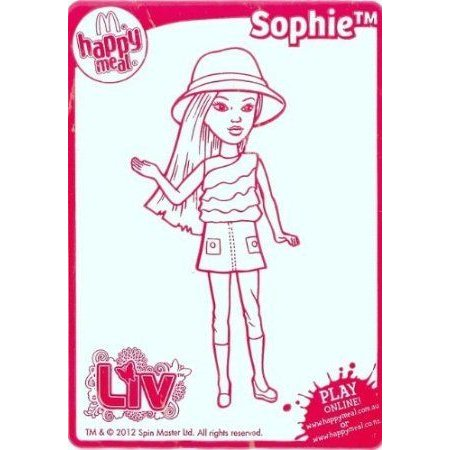 Happy Meal LIV Doll, Sophie #2 2011 ドール 人形 フィギュア