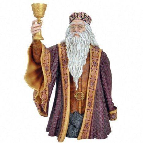 Harry Potter (ハリーポッター) : Albus Dumbledore SDCC Gentle Giant Exclusive Minibust フィギュア|worldfigure