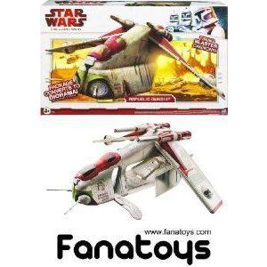 Hasbro (ハスブロ) - Star Wars (スターウォーズ) The Clone Wars vehicule Republic Gunship