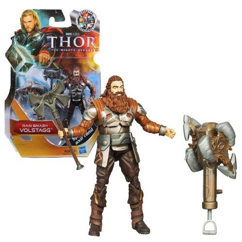 Hasbro ハスブロ Year 2010 Marvel マーブル Studios Thor The Mighty Avenger Basic 4 Inch Tall Action