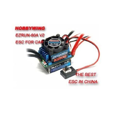 HobbyWing eZRun-60A-SL Brushless ESC for 1/12 and 1/10 Cars フィギュア おもちゃ 人形