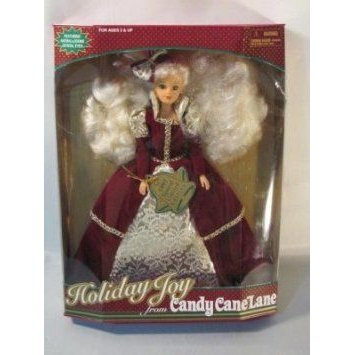 Holiday Joy Doll From Candy Cane Lane with Natrual - Looking Crystal Eyes (1997 Special 限定品) ド