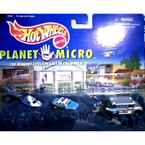 Hot Wheels (ホットウィール) Police Force Series 1 - Hot Wheels (ホットウィール) Planet Micro ミニ