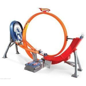 Hot Wheels (ホットウィール) Power Loop Raceway (2012) Motorized Loop & Jump ミニカー ミニチュア 模