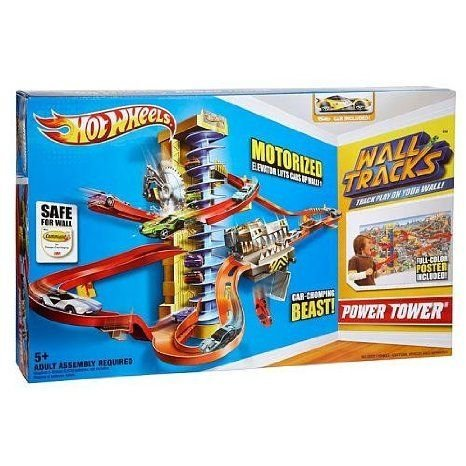 Hot Wheels (ホットウィール) Wall Tracks Power Tower (Manufacturer's Age: 5 years and up) ミニカー
