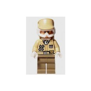 Hoth Rebel Trooper - Lego (レゴ) Star Wars (スターウォーズ) Minifigure ブロック おもちゃ