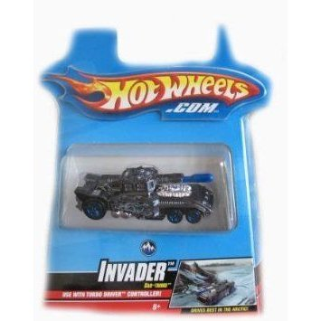 Hotwheels (ホットウィール) Turbo Driver Car-Tridge INVADER ミニカー ミニチュア 模型 プレイセット自