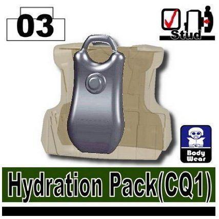 Hydration Pack (Dark 青 Gray) - LEGO (レゴ) Compatable Piece ブロック おもちゃ