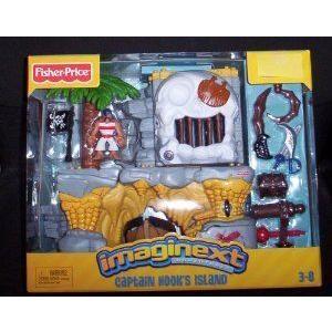 Imaginext Adventures Captain Hook's Island [Toy]