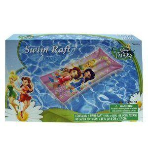 Inflatable Raft - Disney (ディズニー) - Fairies (19 x 48) (Swimming Toys) フィギュア おもちゃ 人形