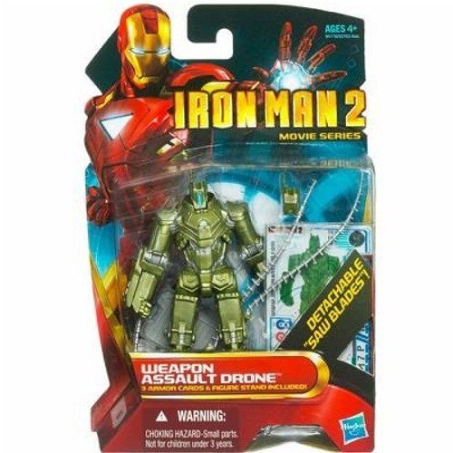 Iron Man アイアンマン 2 Concept Series 4 Inch Action Figure Weapon Assault Drone フィギュア ダイキ