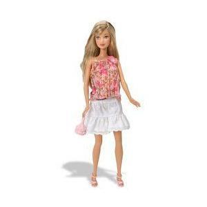 J1328 Barbie(バービー) Fashion Fever Doll - 3 ドール 人形 フィギュア