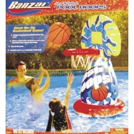 Jam 'N Splash Pool Hoops Inflatable Pool Basketball by Toy Quest TOY ドール 人形 フィギュア