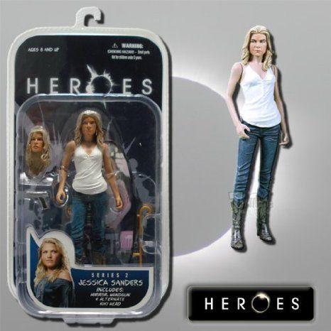 Jessica Sanders ~ Heroes Series 2 Collectable アクションフィギュア 人形 フィギュア おもちゃ 人形