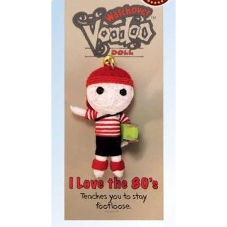 John Hinde Watchover Voodoo Doll I Love The 80's ドール 人形 フィギュア