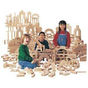Jonti-Craft 26414JC 170 BLOCKS/21 SHAPES BLOCK SET ブロック おもちゃ