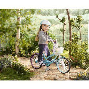 Journey Girls Doll Bike & Helmet ドール 人形 フィギュア