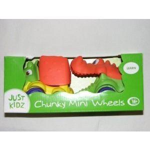 Just Kidz Chunky Mini Wheels Reptile 2 pack ミニカー ミニチュア 模型 プレイセット自動車 ダイキャス